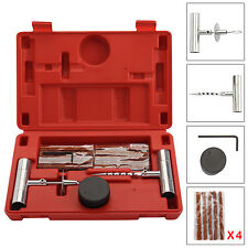 Puncture Emergency Fix Car VAN Motorcycle Tubeless Tyre Repair Tool Kit 30 Strip