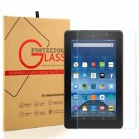 2017 New Amazon Fire 7 7th Generation Premium Tempered Glass Screen Protector