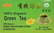 CHINESE ORGANIC GREEN TEA USDA CERTIFIED Royal King Brand (100Bag) Per BOX