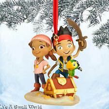 Disney Store Jake and the Never Land Pirates Sketchbook Ornament Izzy NWT NIB
