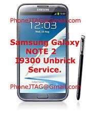 Samsung Galaxy Hard bricked S3 Note 2 II Riff box Jtag repair GT-I9300 GT-N7100