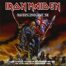 IRON MAIDEN - MAIDEN ENGLAND 88: 2CD ALBUM (MARCH 25th 2013)
