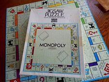 Parker Bros. Monopoly Jigsaw Puzzle 625 pcs