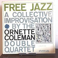 Free Jazz by The Ornette Coleman Quartet 1962 Vinyl Atlantic Records Mono