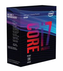Intel Core i7-8700K 3.7GHz - 4.7GHz LGA 1151 Coffee Lake CPU Desktop Processor