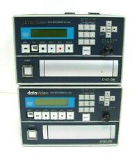 Lot Of 2 datavideo DVD Recorder MP-6000, Free Ship