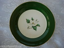 Vintage HOMER LAUGHLIN NAUTILUS LIFETIME CHINA Jade Rose Plate - Made in U.S.A.