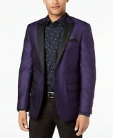 Tallia Formal Evening Jacket Jacquard Purple Size 42R RRP $350.00 Designer