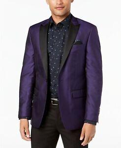 Tallia Formal Evening Jacket Jacquard Purple Size 42R RRP $350.00 Designer