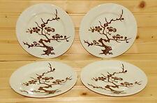 """Fitz & Floyd Prunier De Chine Cognac (4) Dessert or Bread & Butter Plates, 6½"""""""