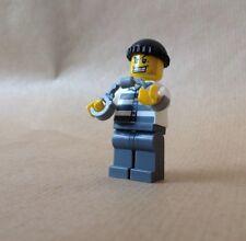Lego ladrón de Set 4436. viene con esposas, tiene oro Tooth & Black Cap
