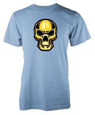 Cráneo De Oro Metálico Brillante Niños Camiseta