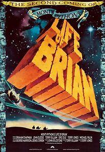 Life Of Brian 1979 Retro Movie Poster A0-A1-A2-A3-A4-A5-A6-MAXI 230