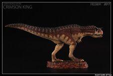 1/35 Rebor Carnotaurus Sastrei Crimson King PVC Dinosaur Museum Class Model