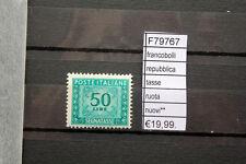 FRANCOBOLLI ITALIA REPUBBLICA TASSE RUOTA  MNH** NUOVI** (F79767)