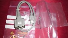NEW DEVICES SERIAL RS232 - RJ45 TO DB 9 PIN DSUB  CABLE - VARIOUS UNIT
