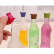 Practical Silicone Wine Beer Bottle Stopper Cap Strong Seal Cover