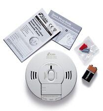 Co2 Detector de humo y monóxido de carbono Alarma Sensor de Voz y LED de notificación