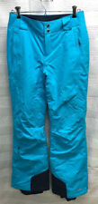 COLUMBIA Women's XS OMNI-HEAT OMNI-TECH Waterproof Breathable Blue Ski Pants