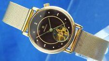 Vintage Skeleton Marvin Revue Mechanical Dress Watch NOS 1960s New Cal MSR P14