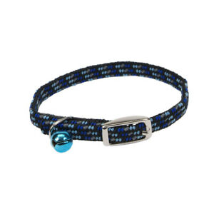 Lil Pals Elasticized Safety Kitten Collar with Reflective Threads /3/8 In X 8 in