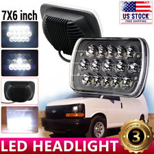 "5""X7"" 7''x6'' LED Headlight For Chevy Express Cargo Van 1500 2500 3500 4X4 Truck"