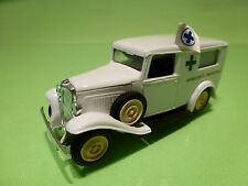 ELIGOR CITROEN 500 kgs VAN - AMBULANCE - WHITE 1:43? - VERY GOOD CONDITION (2)