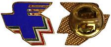 Pins Badge Croce Blu Alata con smalti #MDS179