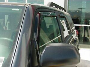 In-Channel Wind Deflectors: 1996-2002 Toyota 4Runner