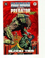 BATMAN VERSUS PREDATOR III, BLOOD TIES, 1ST PRINT, SOFT COVER (MW)