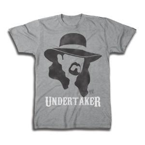 Undertaker Shadow WWE Mens Legends  Gray T-shirt
