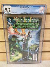 Green Lantern #20 CGC 9.2 (DC Comics 2013) 1st Cameo Appearance of Jessica Cruz