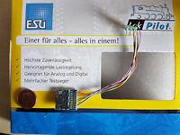 ESU 54620 LokPilot Fx  V4 Funktionsdecoder Kabel + 8pol. Stecker NEU OVP