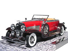 1929 DUESENBERG MODEL J TORPEDO CONVERTIBLE COUPE 1/18 MINICHAMPS 107150430