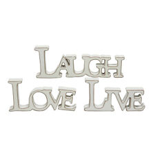 Love Modern Home Decoration -standing Word Plaque Chic Shabby 17161
