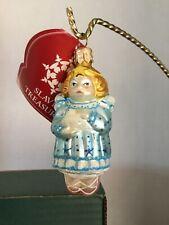 "Peace Angel 3.25"" Slavic Treasures 01-524A Ornament-Tiny Treasures Series Nib"
