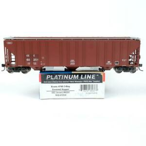 Walthers HO Scale EEC Patched Evans 4780 Cu Ft 3-Bay Covered Hopper 932-41214