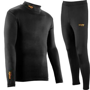 Scruffs Pro Base Layer Thermal Top or Bottoms Active Baselayer Tights M - XXL