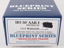 Branchline 1111 HO 50' Double Door AAR Boxcar Kit Wabash WAB NJI&I #3363