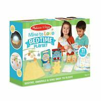Melissa & Doug Mine to Love Bedtime Accessory 11 Piece Playset for Dolls Toy