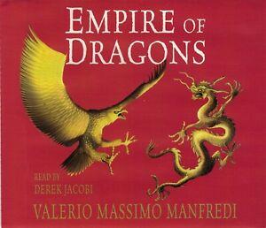 Empire of Dragons - Valerio Massimo Manfredi CD Audio Book (5CDs)