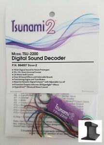 Soundtraxx ~ New 2021 ~ Tsunami 2 ~ TSU-2200 Steam - 2 ~ Sound Decoder ~ 884007