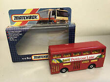 "Matchbox Superking Bus ""Come To Petticoat Lane"" k"