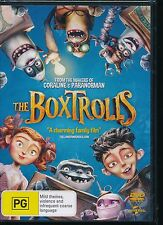 The Boxtrolls DVD NEW Region 4