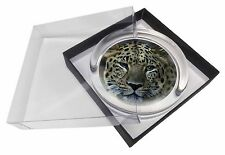 Leopard Glass Paperweight in Gift Box Christmas Present, AT-22PW