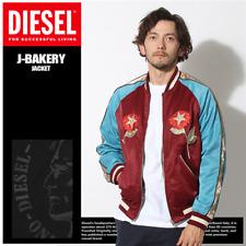 Diesel J-Bakery J Bakery MEDIUM M Satin Bomber Reversible Souvenir Jacket