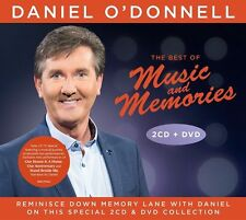 DANIEL O'DONNELL THE BEST OF MUSIC AND MEMORIES 2CD/DVD SET (New for 2016)