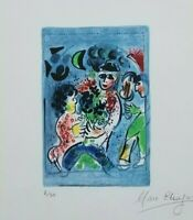 Marc Chagall (1887-1985)  Chagall Lithograph III Frontispiece, Signed Ed. 2/50