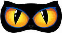 Animated Lighted Cat Eyes Wall Decoration Halloween Haunted House
