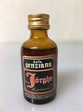Mignon Miniature Amaro Jorghe Il Genzianino 29cc 35% Vol A/37.